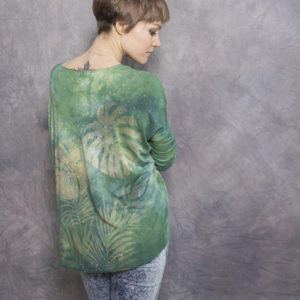 longsleeve goshko LEAVES | TROPIC